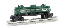 Chemcell - Three-Dome Tank Car