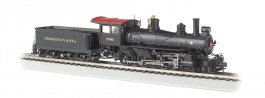 Pennsylvania #7080 - Baldwin 4-6-0 - DCC Sound Value (HO Scale)