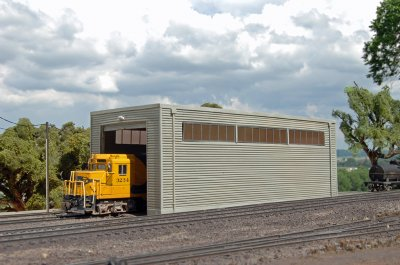 Single Stall Shed