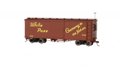 White Pass & Yukon - Box Car