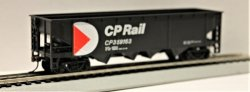 40' Quad Hopper - CP Rail - Black