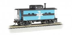 N.E. Steel Caboose - Boston & Maine #C-120 (HO Scale)