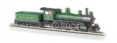 Southern #1087 - Baldwin 4-6-0 - DCC Sound Value (HO Scale)