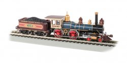 UP® #119 with Coal Load® - DCC Sound Value (HO American 4-4-0)