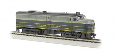 Baltimore & Ohio® - ALCO FA-2 - DCC Sound Value (HO Scale)