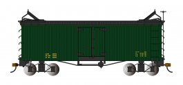 Green with Black Roof and Ends - Reefer - Data Only