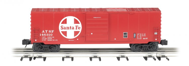 Santa Fe - Operating Box Car - Click Image to Close