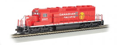 Canadian Pacific Railway #6601 (modern) - SD40-2 (HO Scale)