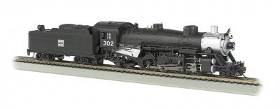 Western Pacific® #302 Light 2-8-2 w/Medium Tender - DCC Ready(HO