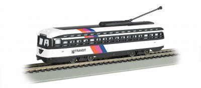 NJ Transit® - PCC Streetcar DCC Sound Value (HO Scale)