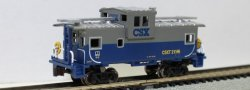 CSX - 36' Wide-Vision Caboose (Blue/Gray)