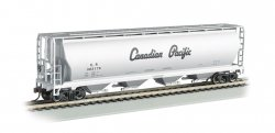 Hopper - 4 Bay Cylindrical Grain - Canadian Pacific