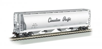 Canadian Pacific - 4 Bay Cylindrical Grain Hopper