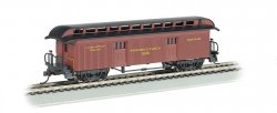 Baggage (1860-80 era) - Pennsylvania RR (HO Scale)