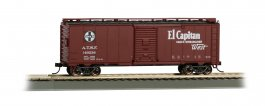 El Capitan 40' Santa Fe Map Box Car (HO Scale)