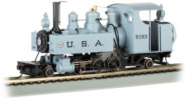 USA #5153 Trench Engine ft. DCC WOWSound®