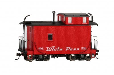 18 ft. Off-Set Cupola Caboose - White Pass & Yukon