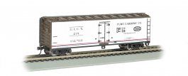 Pure Carbonic Company-40' Wood-side Refrigerated Box Car (HO)