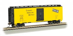40' Box Car - Toronto, Hamilton & Buffalo, 3 car set