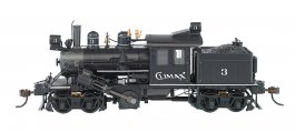 Climax #3 (Demonstrator) - 50-ton Two-Truck Climax (HO Scale)