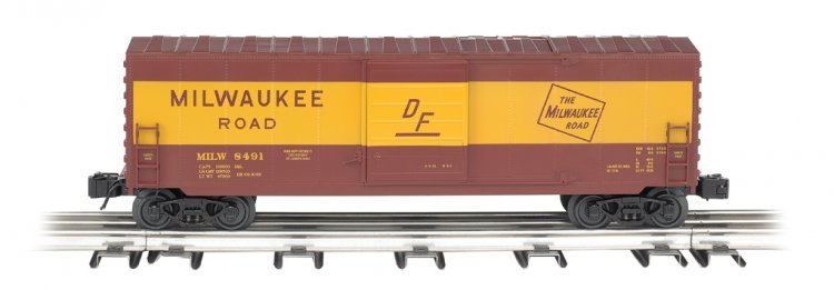 Milwaukee Road - Operating Box Car - Click Image to Close