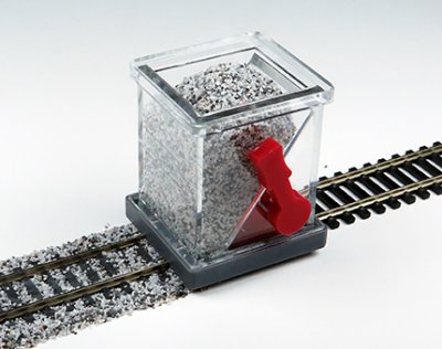 Ballast Spreader with Shutoff (HO Scale)