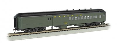 Santa Fe #1524 w/ 2-Window Door (Pullman green) 72' Combine