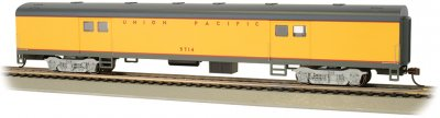 Union Pacific® #5714 - 72' Smooth-Side Baggage Car