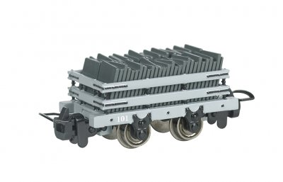 Narrow Gauge Slate Wagon w/ load #101 (HOn30 Scale)