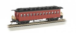 Coach (1860-80 era) - Painted Unlettered Red (HO Scale)