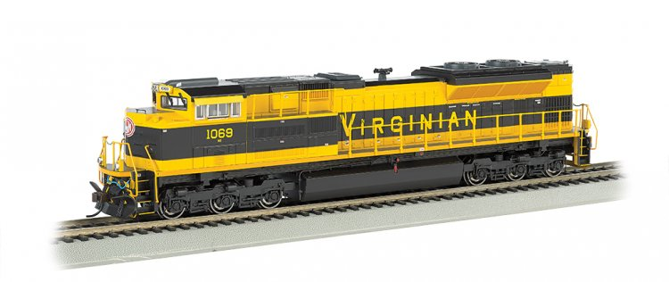 Virginian - NS Heritage - SD70ACe - DCC Sound Value (HO Scale) - Click Image to Close