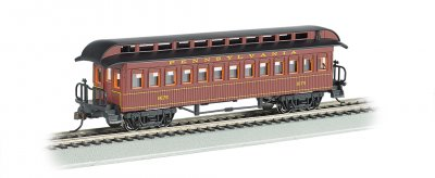 Coach (1860-80 era) - Pennsylvania RR (HO)