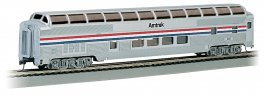 Amtrak Phase II - 85' BUDD Full Dome (HO Scale)