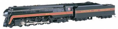Norfolk & Western 4-8-4 Class J # 611 Rail Fan - DCC Sound Value