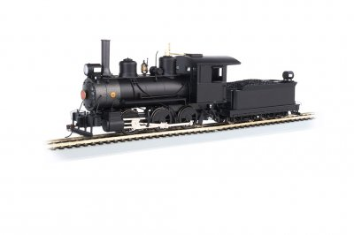 0-6-0 - Painted, Unlettered Black - DCC