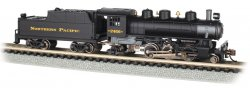 Northern Pacific #2456 - Prairie 2-6-2 & Tender (N Scale)
