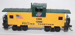 Wide Vision Caboose-Chicago & NorthWestern (HO Scale )