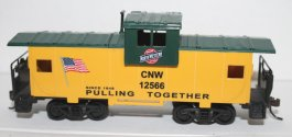 Wide Vision Caboose - Chicago & NorthWestern (HO Scale )