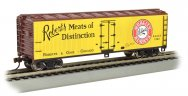 Robert's Meats of Distinction - 40' Wood-side Refrig HO Box Car