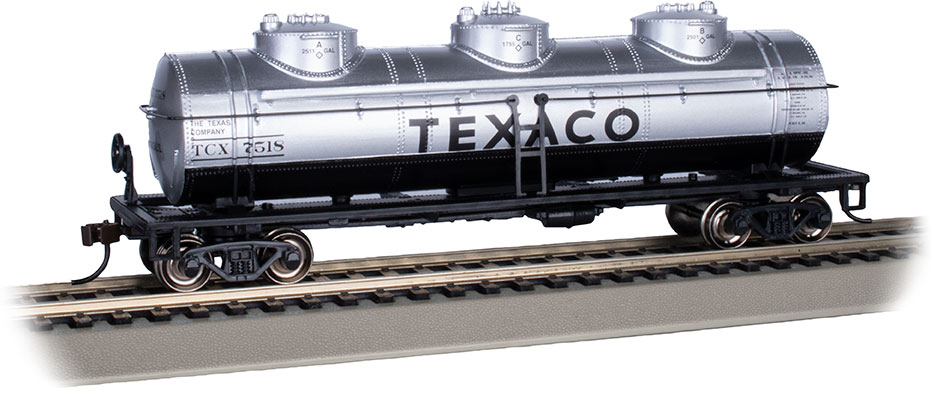 Texaco #7518 - 40' Three-Dome Tank Car (HO Scale)