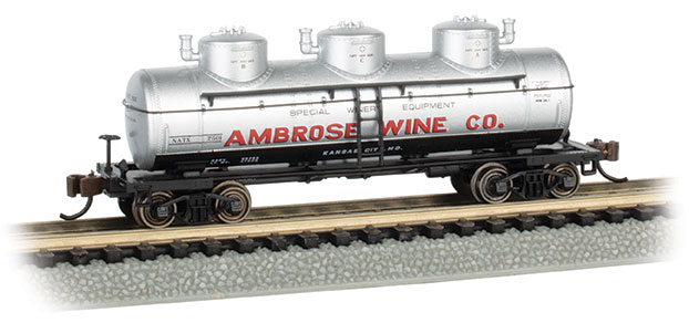 Ambrose Wine Co. - 3-Dome Tank Car