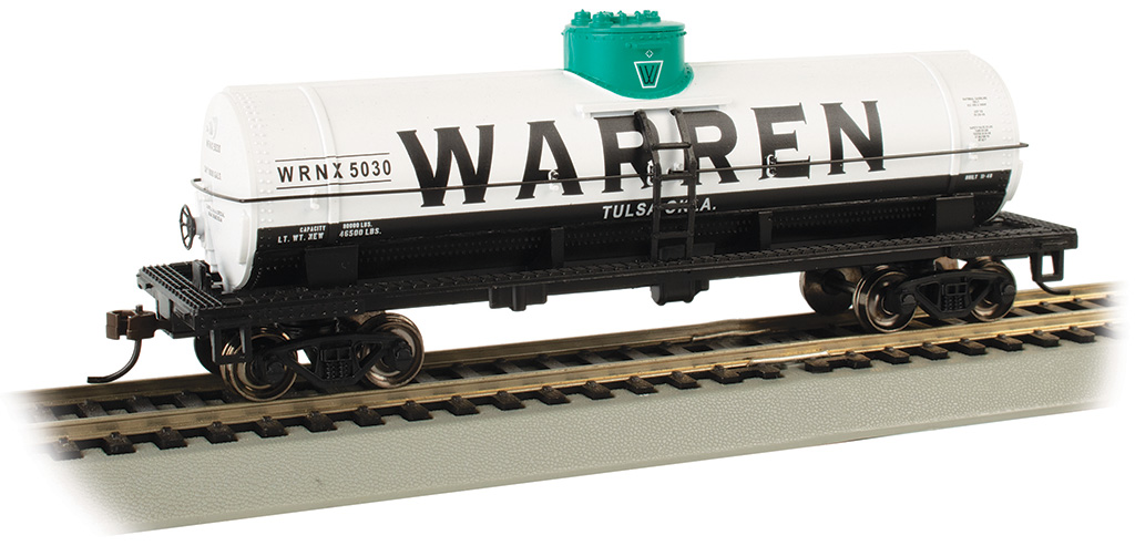 Warren Petroleum #5030 - 40' Single-Dome Tank Car (HO Scale)