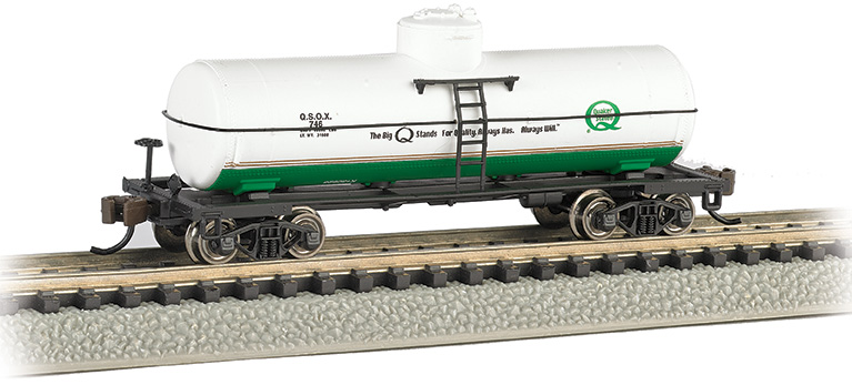Quaker State - ACF 36.5' 10K Gal 1-Dome Tank Car - Click Image to Close