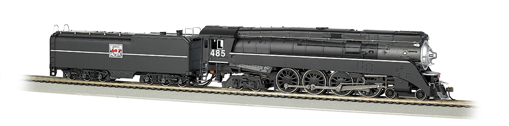 Western Pacific #485 - GS64 4-8-4 (HO Scale)