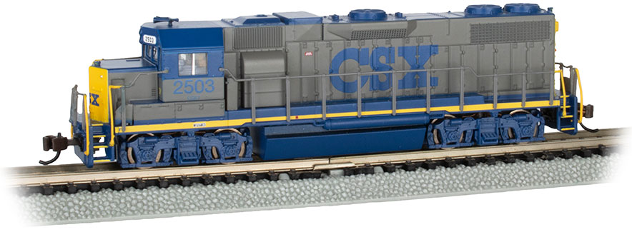 CSX® #2503 - YN1 Scheme (with dynamic brakes)