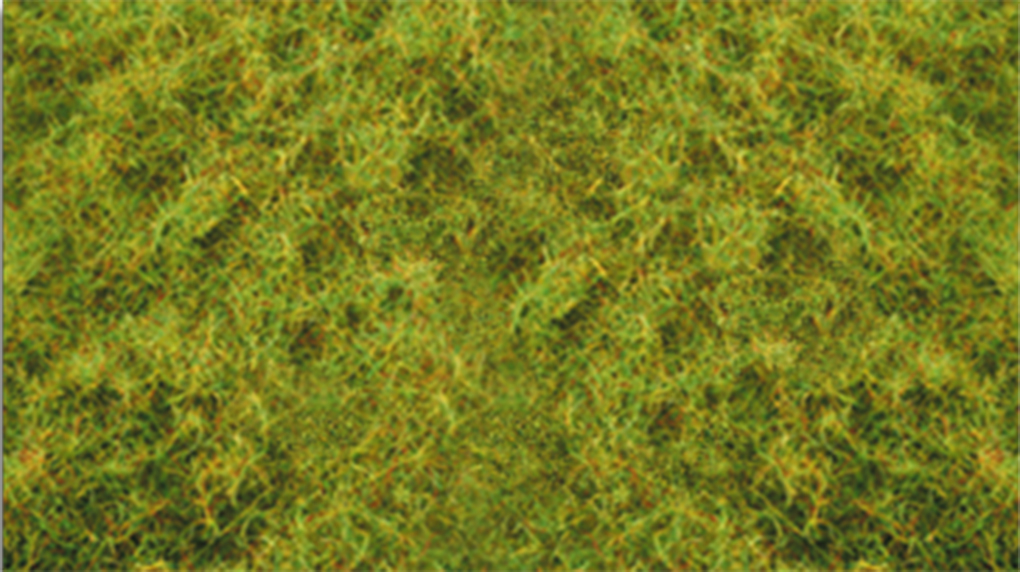 "Bachmann 31011 Pull-Apart Static Grass Sheet/Mat SceneScapes Light Green 1/16"" Tall Fibers Sheet"