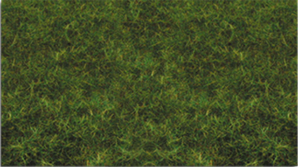"Bachmann 31012 Pull-Apart Static Grass Sheet/Mat SceneScapes Medium Green 1/16"" Tall Fibers 11 x 5-1/2"" Sheet"