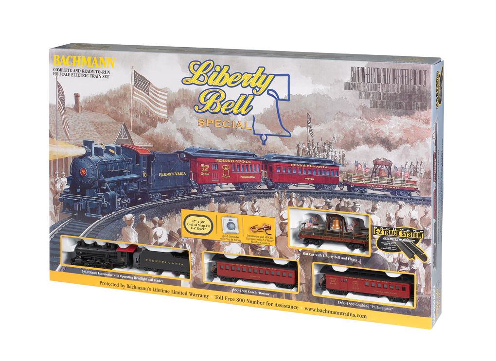 Liberty Bell Special (HO Scale) - Click Image to Close