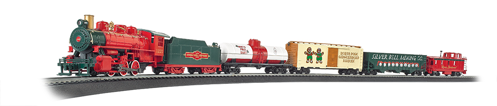 Jingle Bell Express (HO Scale) - Click Image to Close
