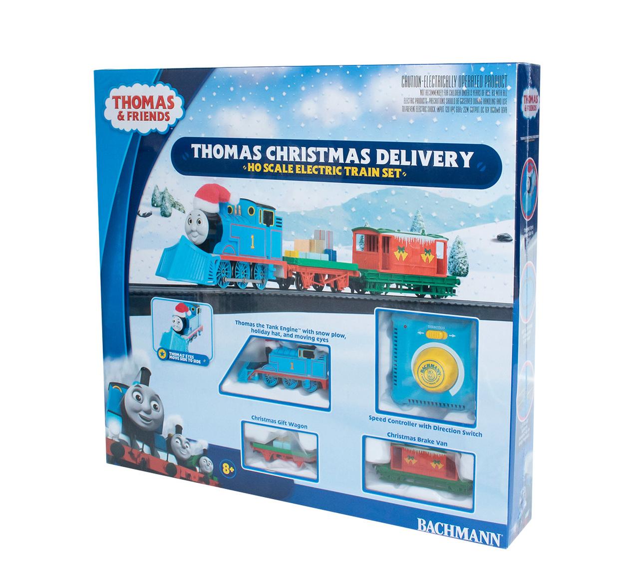 Thomas Christmas Train Set.Thomas Christmas Delivery Ho Scale 00755 239 00